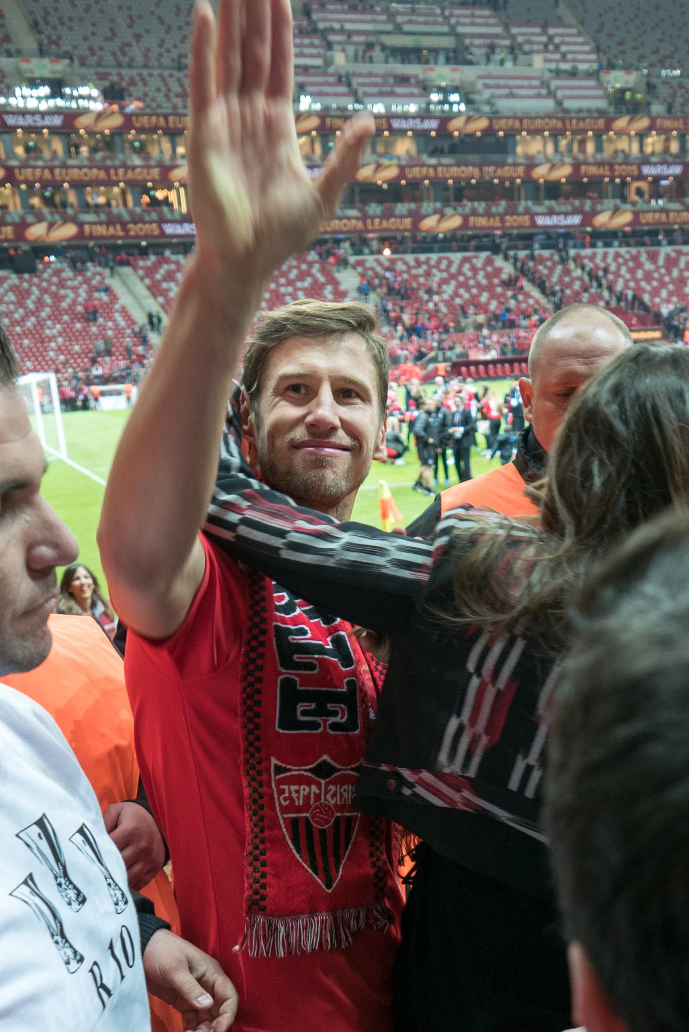 Grzegorz Krychowiak, Liga Europy, Medal,Celia Jaunat, Europe League,Warszawa