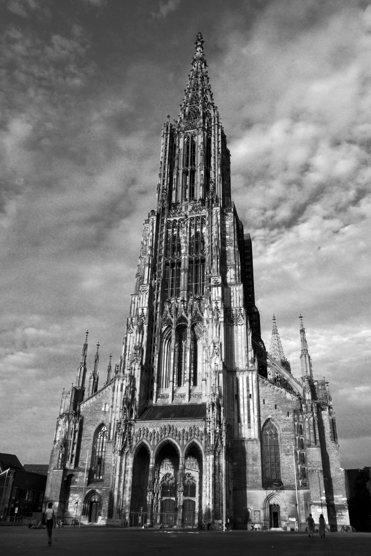 Ulm, Cathedral, Katedra, Germany, Niemcy, Badenia-Wirtembergia, Matthäus Böblinger, Muenster, Minster, Gothic, gotyk,