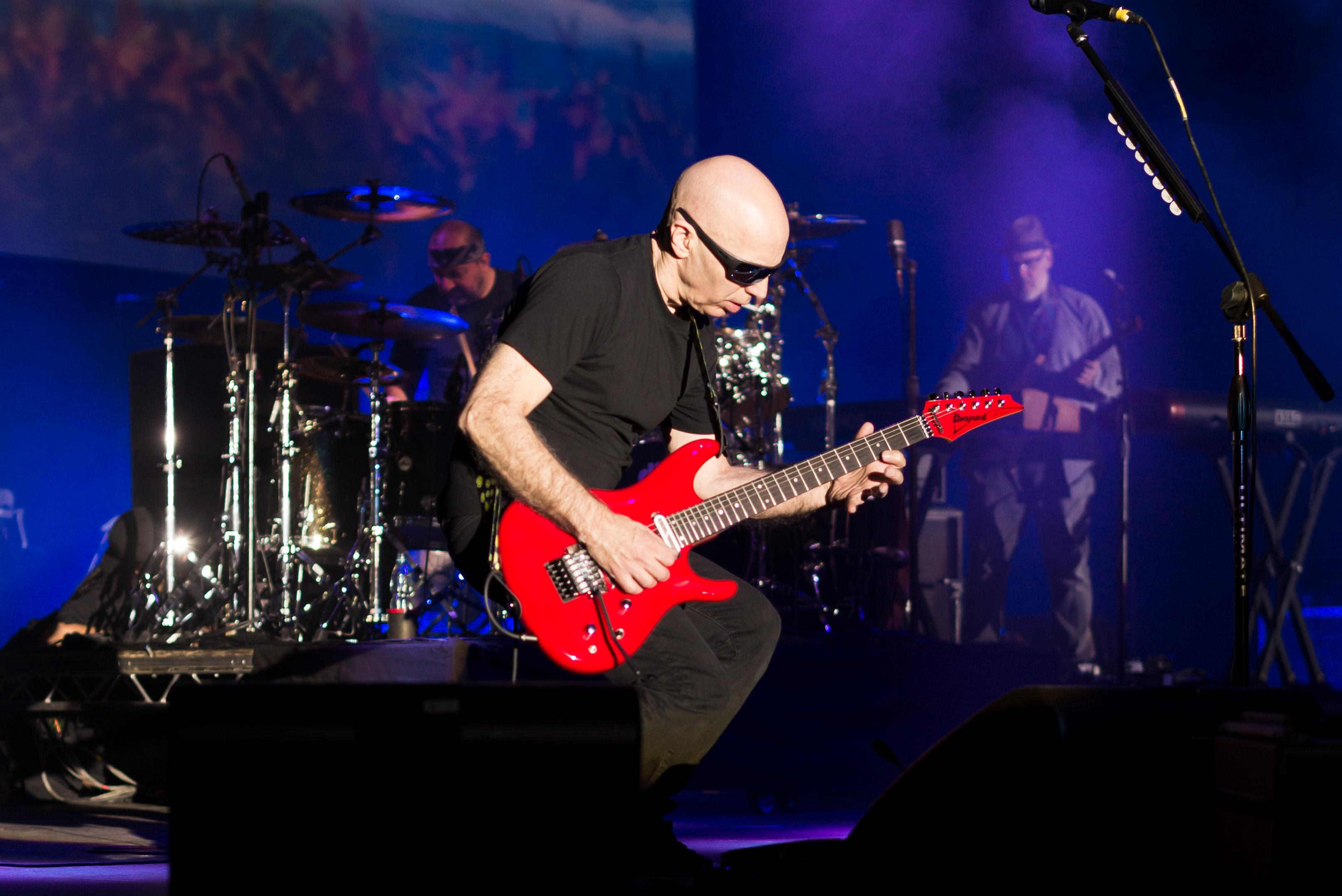 Joe, Satriani; Koncert, Guitar; Concert,G3; Gitara; Polska;