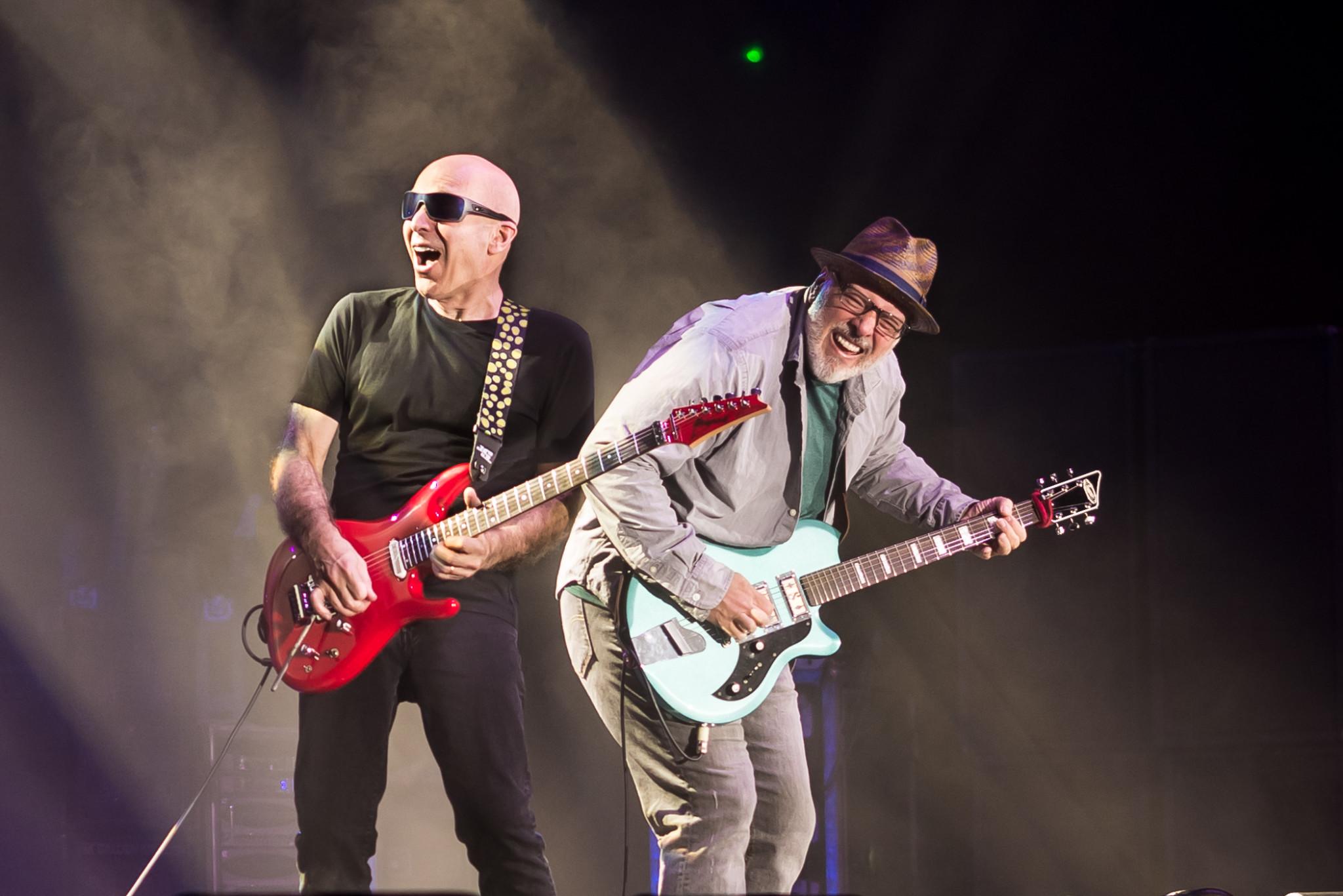 Joe Satriani, Koncert, Guitar; Concert,G3; Gitara; Polska;